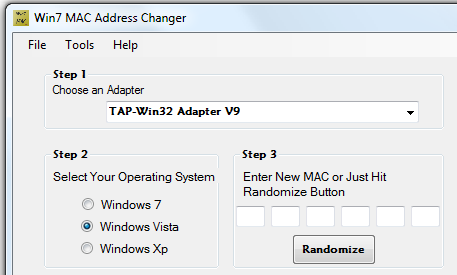 mac adresa windows 7 zmena